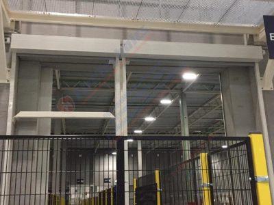 Противопожарная штора FireTechnics EI120 без орошения, Защита конвейерных линий